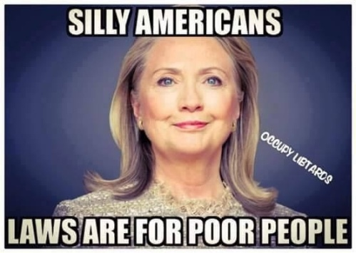 Hillary Silly Americans