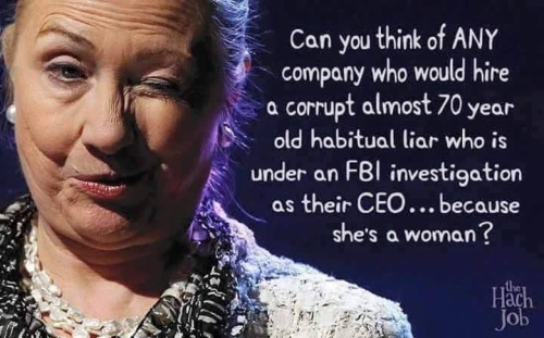 Hillary - Corrupt and Incompetant
